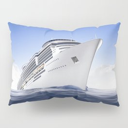 Cruise Ship Pillow Sham