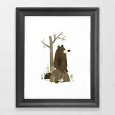 Just a Minute Framed Art Print