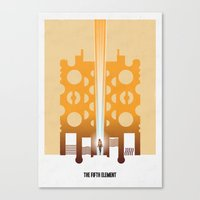 supreme Canvas Prints featuring Supreme Being by antimyth