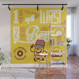 Petey - The No.2 Pencil Wall Mural