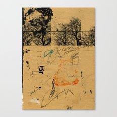 sedimenti 13 Canvas Print