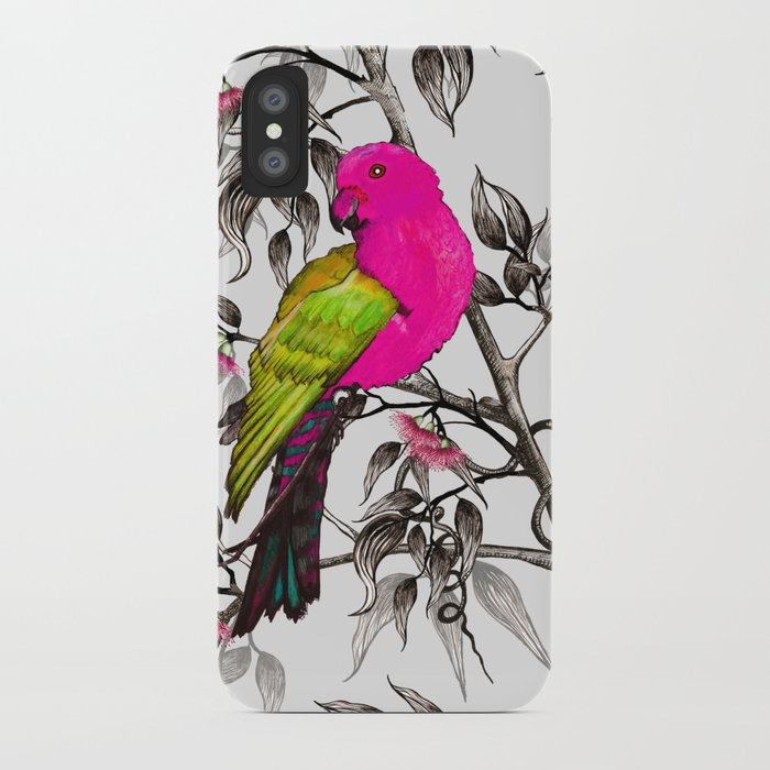 King Parrot iPhone Case