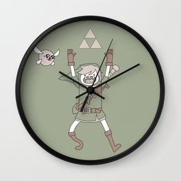 Link Adventure Wall Clock