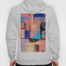 Canvas Abstract Uno Hoody