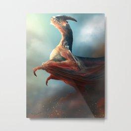 Eternal Dragon Metal Print
