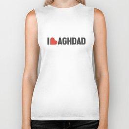 I love Baghdad Biker Tank