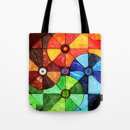 Earth Air Fire Water Ether Tote Bag