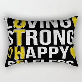 Mother Mom Amazing Loving Strong Happy Rectangular Pillow
