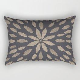 Mandala Flower #5 #drawing #decor #art #society6 Rectangular Pillow
