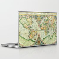 uncharted Laptop & iPad Skins featuring Terra Firma by Catherine Holcombe