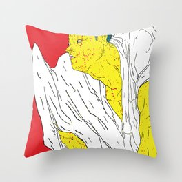DEADLY DANCE #4 Throw Pillow