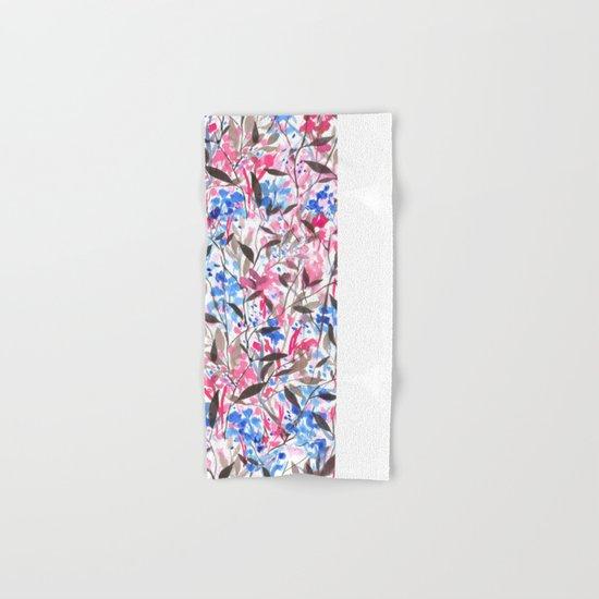Wandering Wildflowers Pink  Hand & Bath Towel