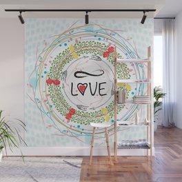 Infinite love Wall Mural
