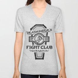 Deadringer's Fight Club Unisex V-Neck