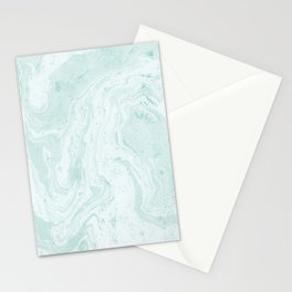 Seaforam Marble Print Stationery Cards