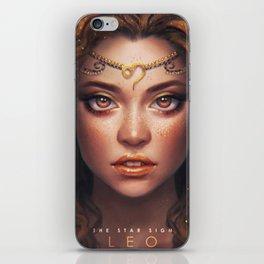 Leo - The Star Sign iPhone Skin