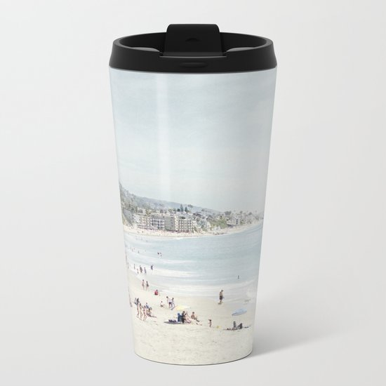 Laguna Beach Metal Travel Mug