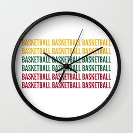 Lithuania Basketball Fan Wall Clock