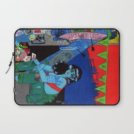 Bright as a Blade & Twice as Sharp Laptop Sleeve