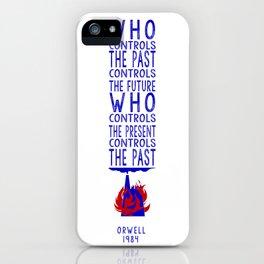 Orwell 1984 iPhone Case