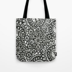 Doily Collection Tote Bag