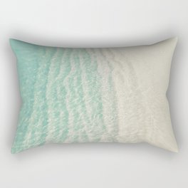 Mint Sea Rectangular Pillow