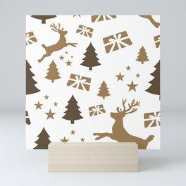 Christmas pattern 1 Mini Art Print