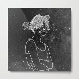 Dreams over night. Metal Print