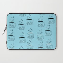 A cup of snow flakes Laptop Sleeve