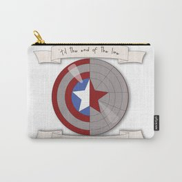 Steve Rogers and Bucky Barnes Shield Carry-All Pouch