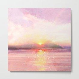 Summer Sunset I Metal Print