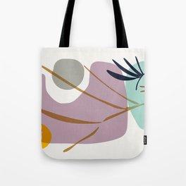 zen garden rocks and sun Tote Bag