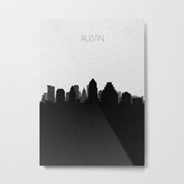 City Skylines: Austin Metal Print