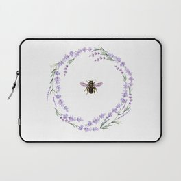 Lavender Bee Laptop Sleeve