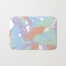 Pastel Paint Bath Mat