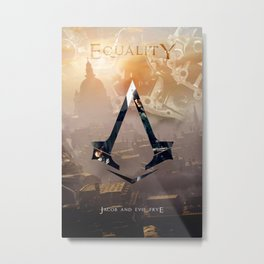 Jacob and Evie Frye, Master Assassins of Industrial London Metal Print