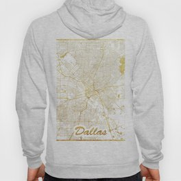 Dallas Map Gold Hoody