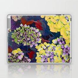 Hydrangea Yellow Laptop & iPad Skin