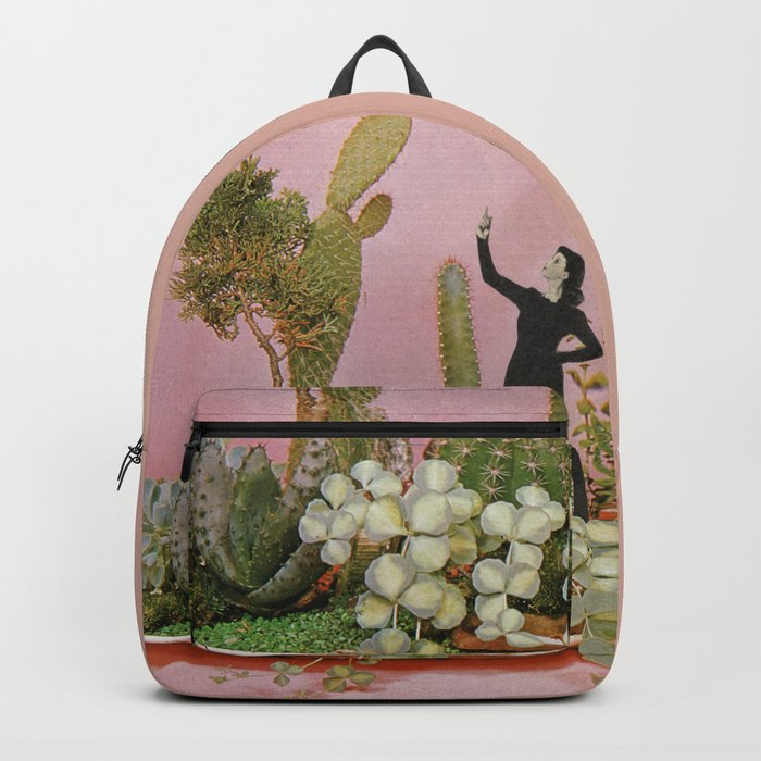 The Wonders of Cactus Island Backpack