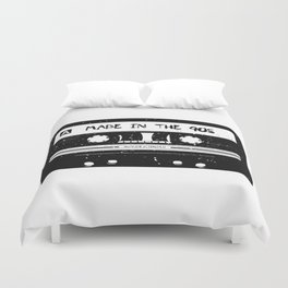 Made in the 90s Tape Duvet Cover