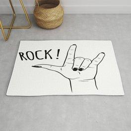 Rock Girl Rug