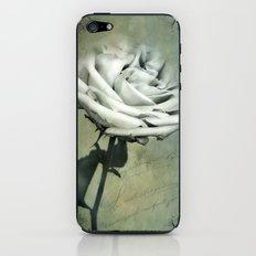 ANTIQUE ROSE iPhone & iPod Skin