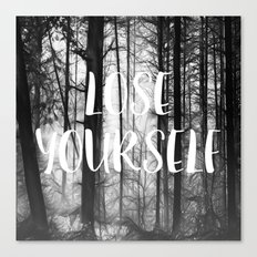 Forest - Lose Yourself Canvas Print