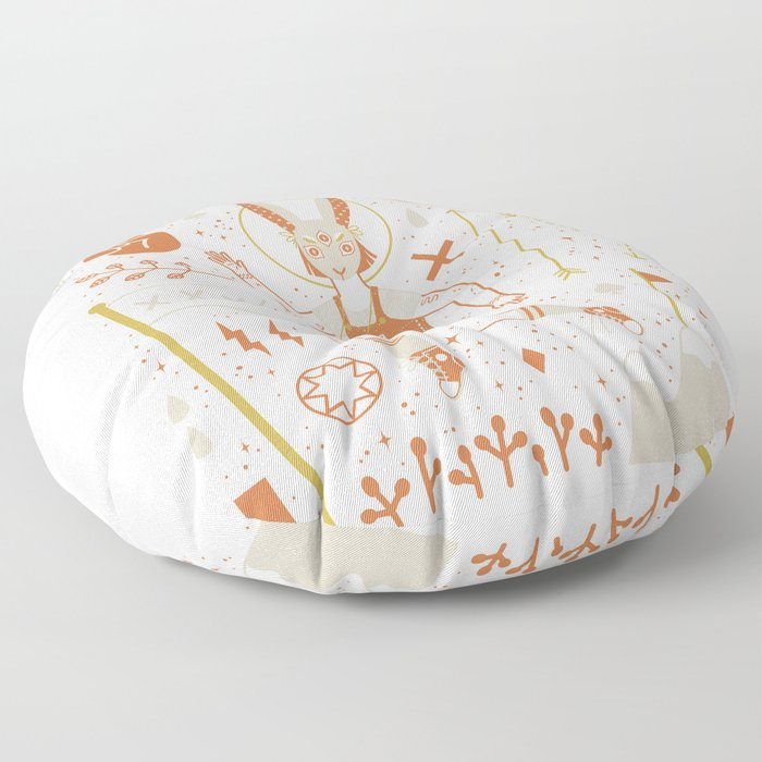 The Trickster Floor Pillow