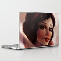 snow white Laptop & iPad Skins featuring Snow white by ChrySsV