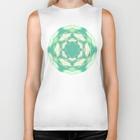 lights Biker Tanks featuring Lights by La Señora