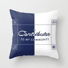 Contributor Throw Pillow