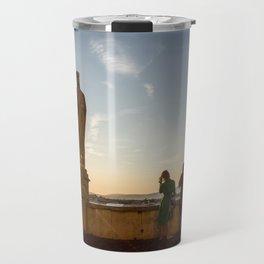 Sunset of Kings in Lake Balaton Travel Mug