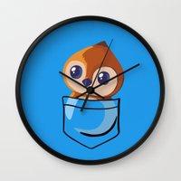 warcraft Wall Clocks featuring Pepe! by SlothgirlArt