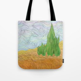Lonely Field Tote Bag